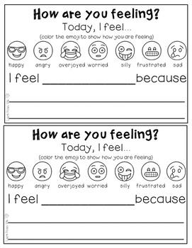 Understanding Feelings - Emoji themed