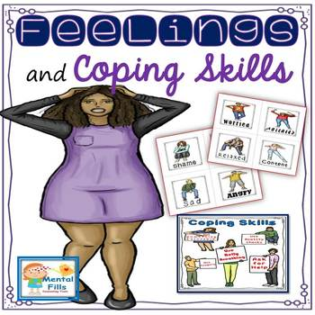 How To Communicate Feelings, Needs, & Identify Coping Skills Worksheets