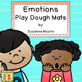 Feelings, Emotions: Play Dough Mats, Interactive Journal Pages