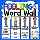 Feelings Word Wall