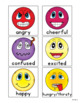Feelings and Emotions Vocabulary Cards, Special Ed, Autism, Speech Therapy