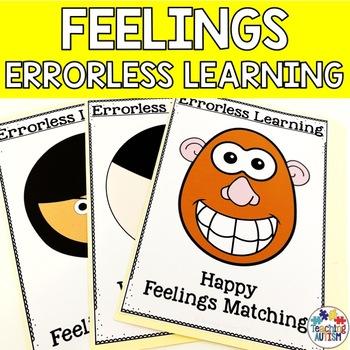 Feelings and Emotions Activities Errorless File Folder Activities