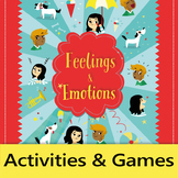 Feelings and Emotions - Activity Bundle + Posters (English)