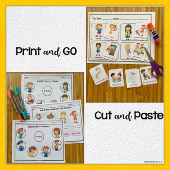 Feelings and Emotions..Activity WorkBook