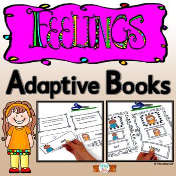 Feelings and Emotions Adaptive Books