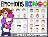 Feelings and Emotions BINGO