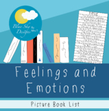 Feelings and Emotions Book List for Primary Classrooms
