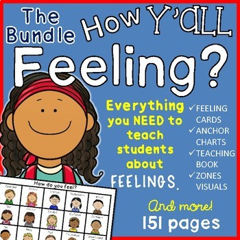 Teacher We Must Teach Emotional >> Feelings And Emotions Bundle By Chrissie S Creations Tpt