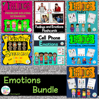Feelings and Emotions Bundle {Low Prep}