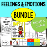 Feelings and Emotions Bundle for Social-Emotional Learning