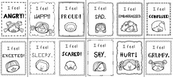 Feelings and Emotions Cards