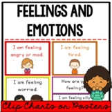 Feelings and Emotions Chart or Posters