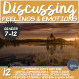 Feelings and Emotions- Middle/High School Conversation Starters