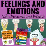 Feelings and Emotions: Cool Down Kit, Posters and Feelings Chart