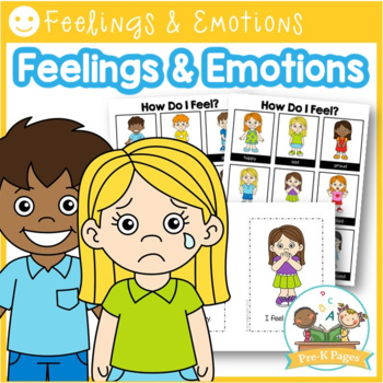 Feelings and Emotions Editable Books, Cards, and Posters