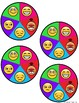 Feelings and Emotions Emoji Check in Wheel and Charts