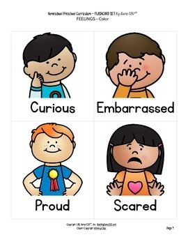 Feelings and Emotions Flashcards
