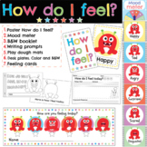 Feelings and Emotions Monster themed activities and posters