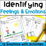 Feelings and Emotions No-Prep Activity Sheets