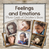 Feelings and Emotions: Photo Cards of Children's Faces