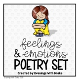 Feelings and Emotions Poem and Journal Set