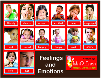 Feelings and Emotions Posters