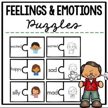 Feelings and Emotions Puzzles