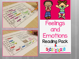Feelings and Emotions Reading Comprehension Fun - Kindergarten