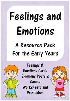 Feelings and Emotions Resource Pack