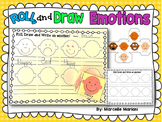 Feelings and Emotions- Roll and Draw- Literacy- Feelings Vocabulary Center