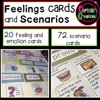 Feelings and Emotions Scenario Cards