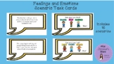 Feelings and Emotions Scenario Task Cards with Picture Cues