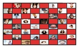 Feelings and Emotions Spanish Legal Size Photo Checkerboard Game