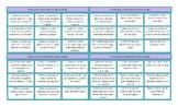 Feelings and Emotions Spanish Tic-Tac-Toe or Bingo Game
