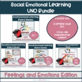 Feelings and Emotions UNO Bundle || Social Emotional Learn