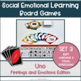 Feelings and Emotions UNO Set 3 || Social Emotional Games