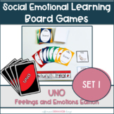 Feelings and Emotions UNO || Social Emotional Learning Games