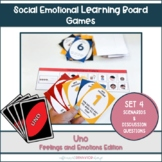 Feelings and Emotions Uno SET 4 || Emotional Vocabulary Sc