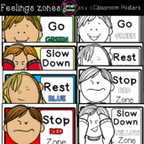 Feelings and Emotions Zones Posters