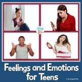 Teen Social Skills Feelings and Emotions {Real Photos and No Prep}