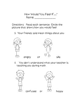 Feelings and Emotions for Young Kids