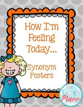 Feelings and Expressions Posters