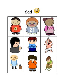 Feelings and Facial Expressions: Happy vs. Sad