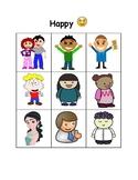 Feelings and Facial Expressions: Happy vs. Sad
