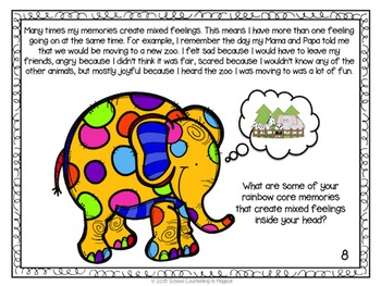 Feelings and Memories Short Story and Worksheets: (Can be used with Inside Out)