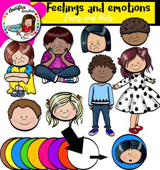 Emotions and Feelings clipart - 137 images
