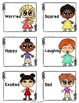 Feelings and emotions ESL-  Task cards, worksheets and activities