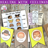 Feelings and emotions visuals - kindergarten, early primary