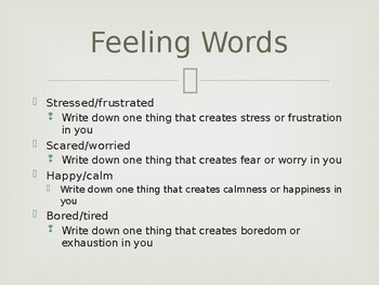 Feelings are Normal - How we react is what is important
