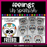 Feelings in Spanish Flashcards - Mis Sentimientos